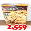 ★即納★【COSTCO】コストコ通販【KIRKLAND】カークランド チーズピザ 481g×4枚(冷凍)