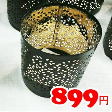 【IKEA】イケア通販【STABBIG】デコレーション グラス入りキャンドル用(ブラック) 高さ9cm/クリスマス/XMAS/パーティー/クリスマス