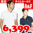 【Abercrombie&Fitchアバクロメンズポロシャツ】