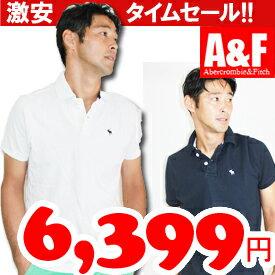 あす楽★Abercrombie & Fitch/アバクロ/メンズポロシャツ/全5色/正規品/スーパークールビズ/クール...