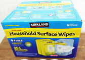 即納【COSTCO】コストコ通販【KIRKLAND】カークランド ハウスホールドワイプス 80枚×2+72枚×2パックセット