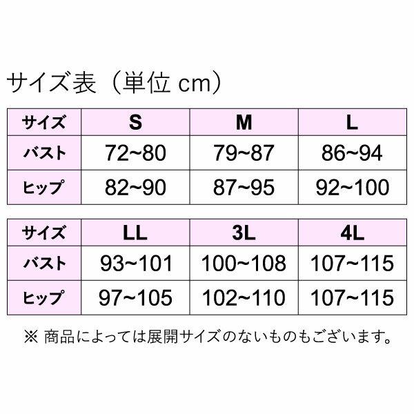 清光ランジェリー レモンユーカリ 3分袖 ブラスリップ 1373 5枚セット M L LL