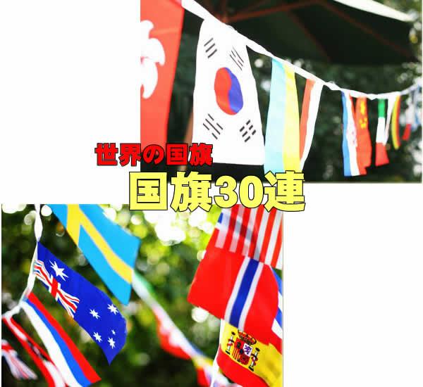 【在庫処分】国旗30連