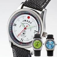 自衛隊エンブレム採用陸・海・空腕時計【日本製】