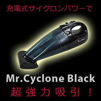 Mr.Black Mr.ブラック ミスターブラック Mr.サイクロン ハンディクリーナー ハンディ掃除機 ハ...