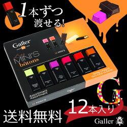 Gallerベルギー王室御用達チョコレートギフトボックス12本セット