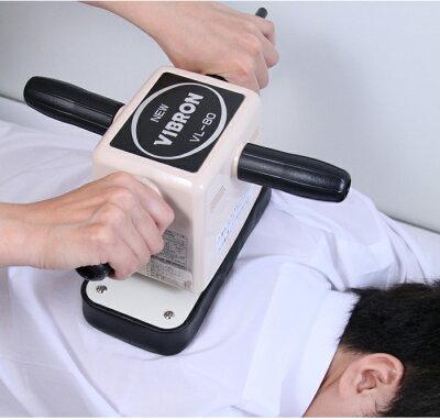 床屋さんのマッサージ器ニュービブロンVL-80床屋理髪店散髪屋マッサージ器マッサージ機ニュービブロンVL-80振動バイブ腰痛強力日本製サロン美容院強弱ヘアーサロンハンドル男性足首肩背中