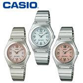 【送料無料&ポイント5倍】 カシオ CASIO 腕時計 レディース ソーラー電波時計 電波ソーラー腕時計 かわいい LWQ-10DJ-4A1JF LWQ-10DJ-7A1JF wave ceptor 女性用 レディースウォッチ うでどけい ピンク ブランド アナログ おしゃれ ホワイトデー お返し プレゼント ギフト