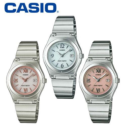 カシオ CASIO 腕時計 レディース ソーラー電波時計 電波ソーラー腕時計...