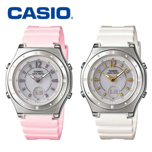 カシオ CASIO 腕時計 レディース ソーラー電波時計 電波ソーラー腕時計 ...