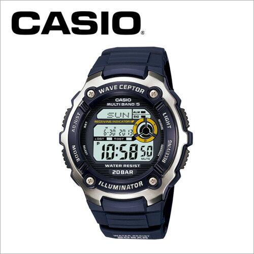 カシオ CASIO 電波腕時計 WV-M200-2AJF ランニングウォッチ スポーツウォッチ マルチバンド5 MULTI...