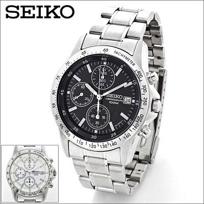 セイコー・クロノグラフ<海外仕様モデル>腕時計SEIKOメンズウォッチ10気圧防水