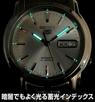 【送料無料】セイコー5日本生産モデル腕時計メンズセイコーSEIKO腕時計セイコー5セイコーファイブSEIKOFIVEMadeinJapanモデルバックル・文字盤にJAPANの刻印ブランド日常生活防水プレゼントギフト日本製蓄光インデックスプレゼントギフト