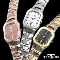 テクノス腕時計スクエアタングステン【カタログ掲載1510】