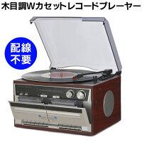 WカセットレコードプレーヤーTT-386W【新聞掲載】