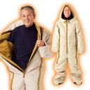 【送料無料】動けるあったか寝袋 人型寝袋 寝袋 人型 メンズ...