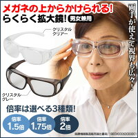 メガネ型拡大鏡【新聞掲載】