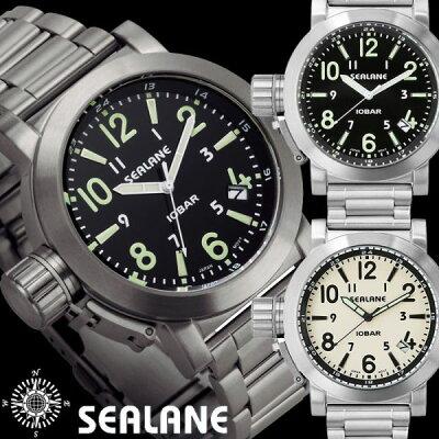 SEALANシーレーン10気圧防水ウォッチメンズ腕時計アナログ