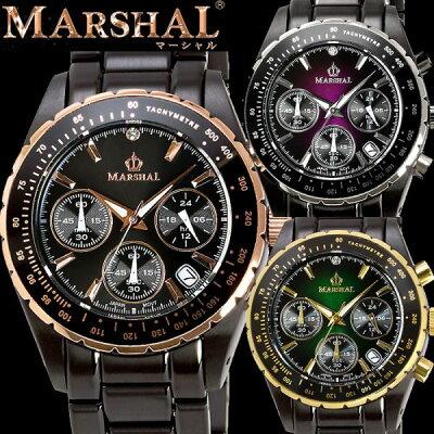 MARSHALマーシャル10気圧防水ブラックIPウォッチメンズ腕時計11位腕時計その他10/13