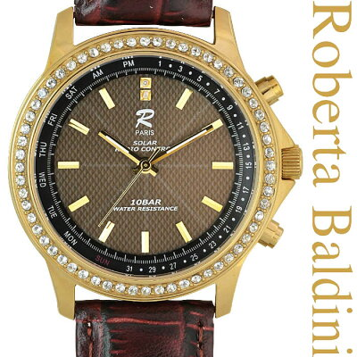 ロベルタバルディーニ宝飾ソーラー電波腕時計ゴールドRB001-G3位ラ行ランキング10月23日(金)21:57更新