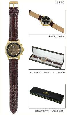 ロベルタバルディーニ宝飾ソーラー電波腕時計ゴールドRB001-G