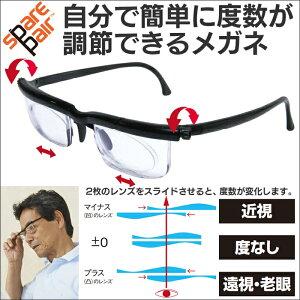 眼鏡 近視 遠視 乱視 老眼 レンズ 度数 老眼鏡 度数調整メガネ 度数調節メガネ自分で度数が調節...