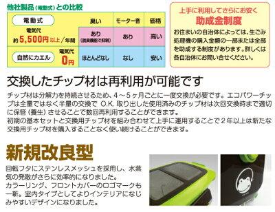 自然にカエルS基本セットSKS-101型【チップ材8L×2セット入り】