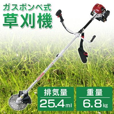 ニチネンガスボンベ式草刈機ガスカルGKC-2本体