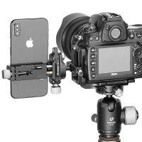 Leofotoスマートフォン用小型自由雲台セットDC-12+MBC-18+PC-90IIアルカスイス互換レオフォト