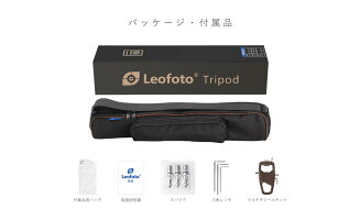 Leofotoカーボン三脚レンジャーシリーズレベリングベース搭載4段LS-324CEXレオフォト