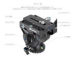 Leofotoレベリングベース搭載三脚&ビデオ雲台LS-324CEX+BV-10レンジャーシリーズカーボンレオフォト送料無料
