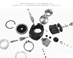 Leofoto自由雲台カーボン三脚セットレンジャーシリーズ4段LS-324C+LH-40レオフォト