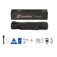Leofoto三脚・雲台セットLS-324C+LH-40PCL4段脚径32mmボール径40mmカーボン自由雲台レンジャーシリーズアルカスイス互換レオフォト送料無料