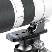 LeofotoレンズフットSF-01アルカスイス互換FE70-200mmF2.8GMOSSFE100-400mmF4.5-5.6GMOSSに適用レオフォト