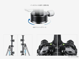 Leofoto(レオフォト)HC-32KIT可動式センターポールシステム[ポール径32mmUNC1/4インチ(細ネジ)3/8インチ(太ネジ)HC-32C-32x2個]送料無料