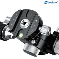 Leofoto(レオフォト)FW-01R3way雲台(パンニングクランプ搭載)アルカスイス互換プレート付属折りたたみ式ハンドル送料無料