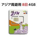 アジア周遊用 SIM プリペイド...