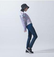 台湾iohll0005トレーナーパステルフラワー印象デザインレディースファッション
