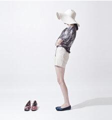 台湾iohllショートパンツホットパンツアーバンデザインブランドレディースファッションナイロンNYLON原宿装苑TOKYO東京
