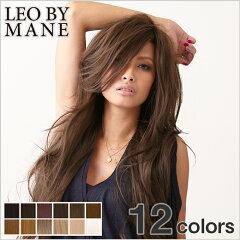 ウィッグ ロング スーパーロング フルウィッグ ウイッグ 送料無料 耐熱 エクステ wig LEOBYMANE(レオバイメイン)L-FWSL001 ニュアンスロングウェーブ かつら ヘアアレンジ