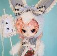 送料無料 ダル ロマンティック ホワイトラビット(Romantic White rabbit) プーリップ テヤン アリス グッズ 着せ替え人形