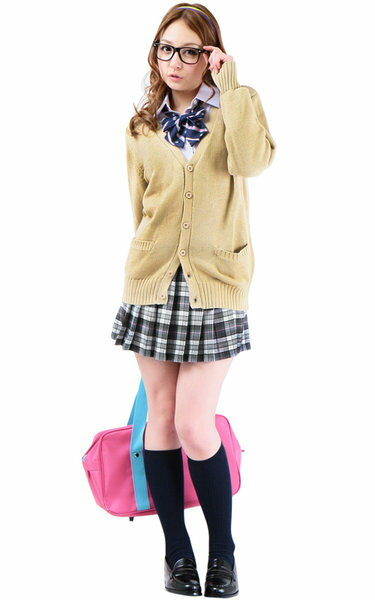 【メール便対応3個まで】Teens Ever 織り生地リボン(APネイビー) 女子高生 リボン 制服 リボン リボン セーラー服 JK リボン リボン ネクタイ