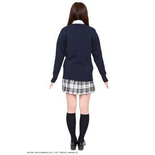 パーティーグッズコスチューム/TeensEverマイメロディカーディガンネイビーJK制服女子高生女子中学生【RCP】【24-Feb】【27-Feb】