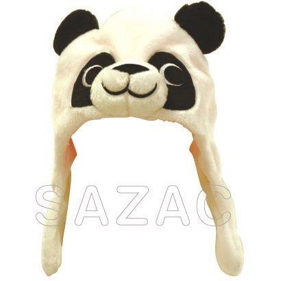 サザック 着ぐるみキャップ パンダ 着ぐるみCAP パンダ アニマル 動物 あにまる どうぶつ