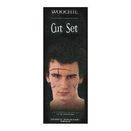 シネマシークレット WOOCHIE Cut Set 見ているだけで痛くなる 切り刻まれた傷の特殊メイクキット WO145 学園祭 切り傷 シネマシークレット 舞台 リストカット 切られた傷 特殊メイク ハロウィン パーティー コスプレ 傷跡 仮装 傷 怪我 ホラー
