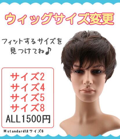 【Wigs2you】選べるウィッグサイズ★サイズ変更(メンズウィッグ用)【はこぽす対応商品】