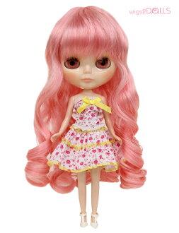 For doll, Dole wig /B-192/ long /Blythe/ blythe / hard かわ / costume / original / popular item / photography