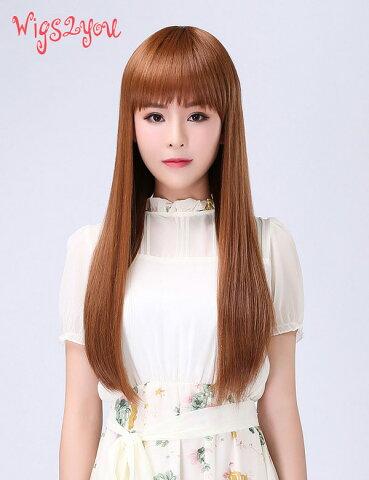 【Wigs2you】ウィッグ 簡単着用 日本製高級ファイバー使用 W-1026 フルウィッグ ファッションウィッグ ウィッグ ウイッグ うぃっぐ かつら 最高級 ナチュラル ストレート サラつや ロング 女装 小顔 結婚式 余興 イベント コスプレ 普段使い 20代 30代