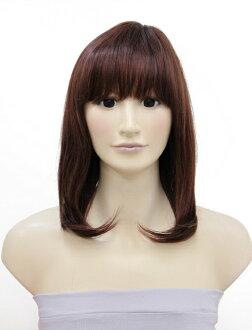 或醫療假髮假髮假髮假髮和放的短假髮短假髮假髮頭髮假髮短假髮 eri足美麗類型假髮 (白色混合在自然)