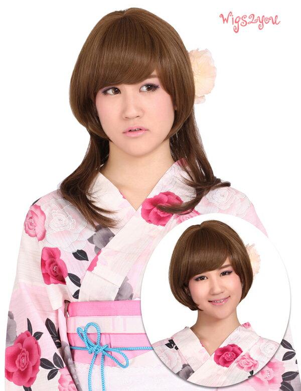 ウィッグ・つけ毛, ポイントウィッグ Wigs2youE-045BOX